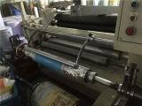 La cinta de la espuma del rodillo de la segunda mano, escritura de la etiqueta de papel, filma la máquina automática el rebobinar que raja