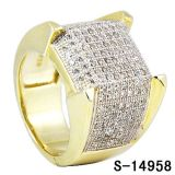 Nieuw Zilver 925 van de Ring van de Juwelen van de Manier van het Ontwerp voor Mensen