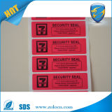 Sticker van de Garantie Sticker/Security van de Overdracht niet de Open Nietige