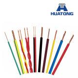 1.5mm, 2.5mm, le câblage électrique flexible à fils multiples à un noyau de 10mm, PVC a isolé le fil de câble, prix de fil électrique