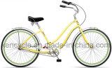 """26の""""関連のBeach Cruiser Bicycle内部の3つの速度浜の巡洋艦の自転車か女性または女の子浜の巡洋艦の自転車"""