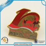 Значок Pin национального флага оптового высокого качества изготовленный на заказ