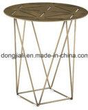 Tavolino da salotto di superficie Bronze rosso di Teapoy del ferro di Finishment con l'alta qualità