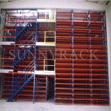 Sistema do assoalho de mezanino da alta qualidade do armazenamento do armazém