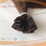 Estensione completa diritta calda dei capelli di fusione dei capelli di Remy dei capelli umani di colore del Brown