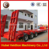 Tri-Axle 60mt, 60tons Low Bed Semi Trailer