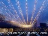 Partij van de Vakantie van de LEIDENE Decoratie van de Waterval de Lichte Netto Lichte