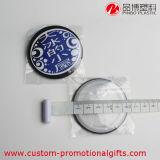 Divisa plástica barata redonda linda del botón del item de la promoción