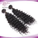 Уток волос волны высокого качества 100% глубоко людской бразильский