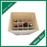 Оптовая изготовленный на заказ коробка бутылки пива вина размера