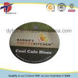 Tapa del papel de aluminio para la cápsula del café del lacre