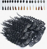 Alibaba Express Wholesale Full Cuticle 200g 8A Clip in Extension