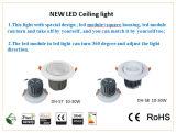 10W PFEILER LED Deckenleuchte mit Cer RoHS für Haus