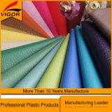 Cuoio sintetico del PVC di colore moderno per il sofà