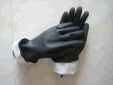 Неподдержанный неопрен выровнянный стаей промышленное Glove-5640