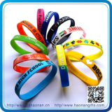 Preiswerte Werbegeschenk-MassensilikonWristbands (HN-SB-007)