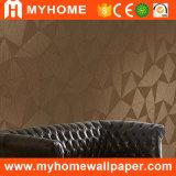Nouveau papier peint profondément de relief de PVC de la conception 2016 (MK830606)