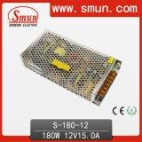 180W 12VDC 15A Ausgabe-Schaltungs-Stromversorgung für Motor S-180-12