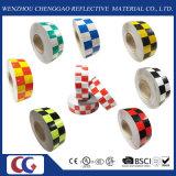 赤及び黒のチェッカーの反射安全警告のConspicuityテープ(C3500-G)