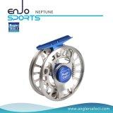 Bobina di alluminio selezionata della mosca dell'attrezzatura di pesca di CNC del pescatore (NETTUNO 5-6)