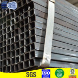 40*80 ms Black Rectangular Pipe, tubo de Retangle
