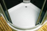 Cabine de chuveiro com vapor de massagem de alta eficiência com bandeja baixa (LTS-9909A)