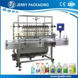 Máquina de enchimento de engarrafamento do frasco automático do suco do álcôol do vinho do alimento