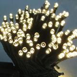 Lumière de Noël solaire de la chaîne de caractères DEL de Noël