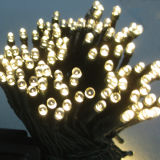 Luz de Natal solar do diodo emissor de luz da corda do Natal