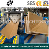 Pallet 서류상 갑판 Edge Board와 Protector Machine