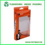 Empaquetado al por menor claro plástico impreso del rectángulo de ventana del PVC