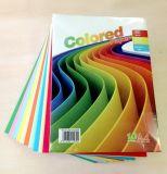 목재 펄프를 가진 색깔 종이를 인쇄하는 다채로운 복사 용지