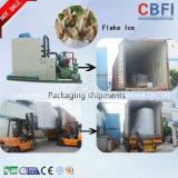 Máquina de gelo de refrigeração do floco da eficiência do Refrigeration de Cbfi ar elevado