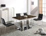 Tableau de marbre moderne en métal de salle à manger à vendre A8023