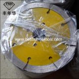 CB-9 다이아몬드 화강암 사암 석회석 (125-235mm)를 위한 건조한 절단 잎