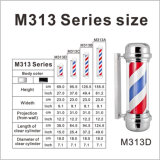 Luz de poste clásica del peluquero del diseño de la venta caliente M313