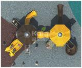 Детей высокого качества Kaiqi оборудование спортивной площадки средств - имеющееся в много цветов