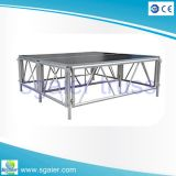 Haltbares Aluminum Stage mit Adjustable Height Used für Indoor Performance