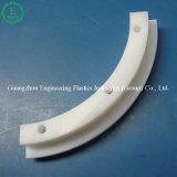 Carril de guía de nylon de la curva con los orificios