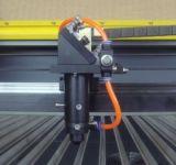 Großes Format Texile Laser-Stich-Ausschnitt-Maschine, CCD, rotes PUNKT System