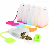 Hot Selling Bag Style Silicone Tea Filtro Herbal Spice Infuser Filter