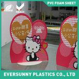 Feuille de mousse de PVC pour la publicité d'intérieur et extérieure
