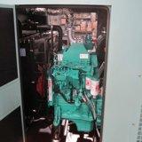 Aangedreven door Motor 100% van Volvo Generator van de Alternator 80kw 100kVA van het Koper Brushless Super Stille met Controlebord Comap