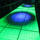 Плитки танцевальной площадки портативная пишущая машинка 1m*1m более дешевые СИД для света диско