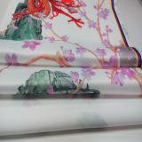100%Polyester 공단 의복 홈 직물에 의하여 인쇄되는 직물