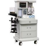 جراحيّ تجهيز [أنسثسا] آلة مع [س] في مستشفى