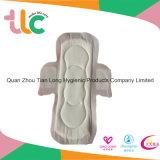 Servilleta sanitaria ultrafina, pista menstrual del algodón puro del 100%