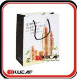 Bolsa de papel con la maneta de seda