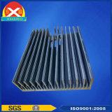 Aluminiumkühlkörper nach unterschiedlicher Oberflächenbehandlung
