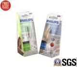 UV офсетная печать складывая пластичную коробку, Foadable PVC/Pet/PP ясно упаковывая напечатанные коробки, коробку Transpaernt упаковывая